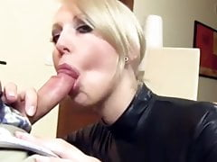 Hot Blonde in Lates Enjoying My Small Cock