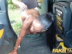 Fake Taxi Lovely ebony beauty Lola Marie empties balls