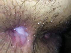 A MUST SEE!!Wife gets anal cream pie from husband friend.