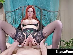Housewife Shanda Fay Fucked In Her Tight Cougar Asshole!