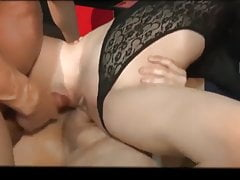 Teens fucked hard in Swinger Club