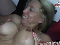 German Housewifes at creampie cum inside swinger party