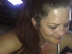 Long Hair Hillbilly Wife POV Blowjob with Facial