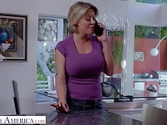 Naughty America - Dee Williams gets Interracial Action