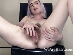 Esme has fun stripping naked and getting happy