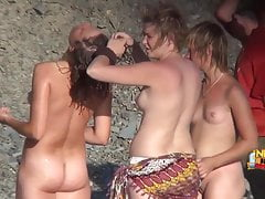 Spy on shameless amateurs at the real nude beaches