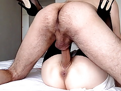 Big Cock for this Petite MILF